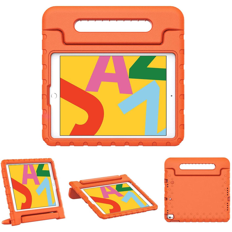 iMoshion Kidsproof Backcover met handvat voor de iPad 10.2 (2019) - Oranje