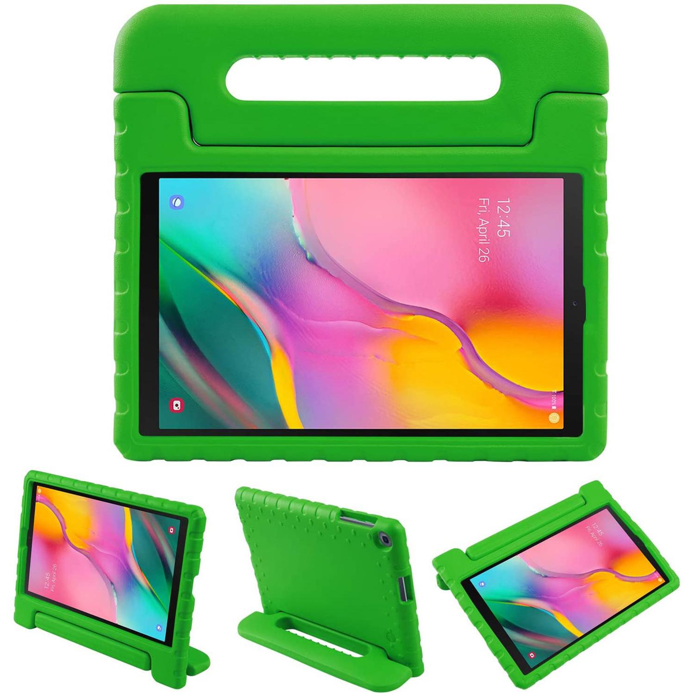 iMoshion Kidsproof Backcover met handvat voor de Samsung Galaxy Tab A 10.1 (2019) - Groen