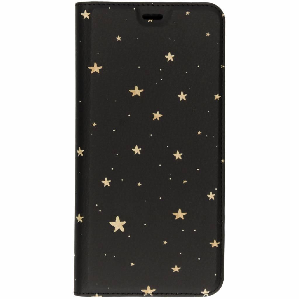 Design Softcase Booktype Samsung Galaxy A9 (2018)