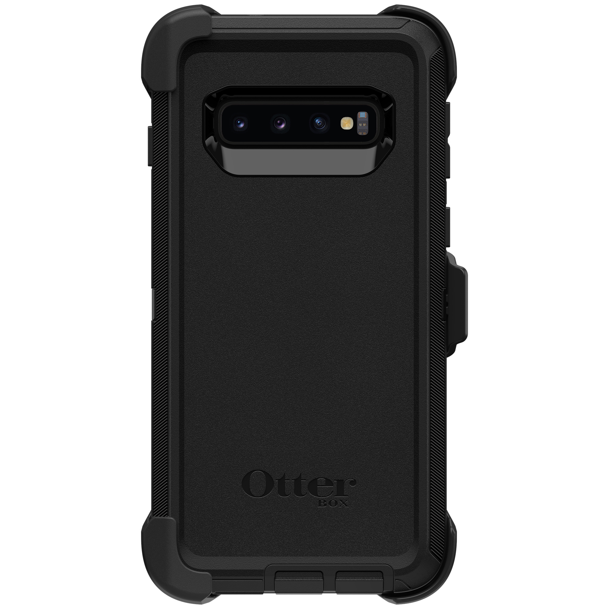 OtterBox Defender Rugged Backcover Samsung Galaxy S10 - Zwart