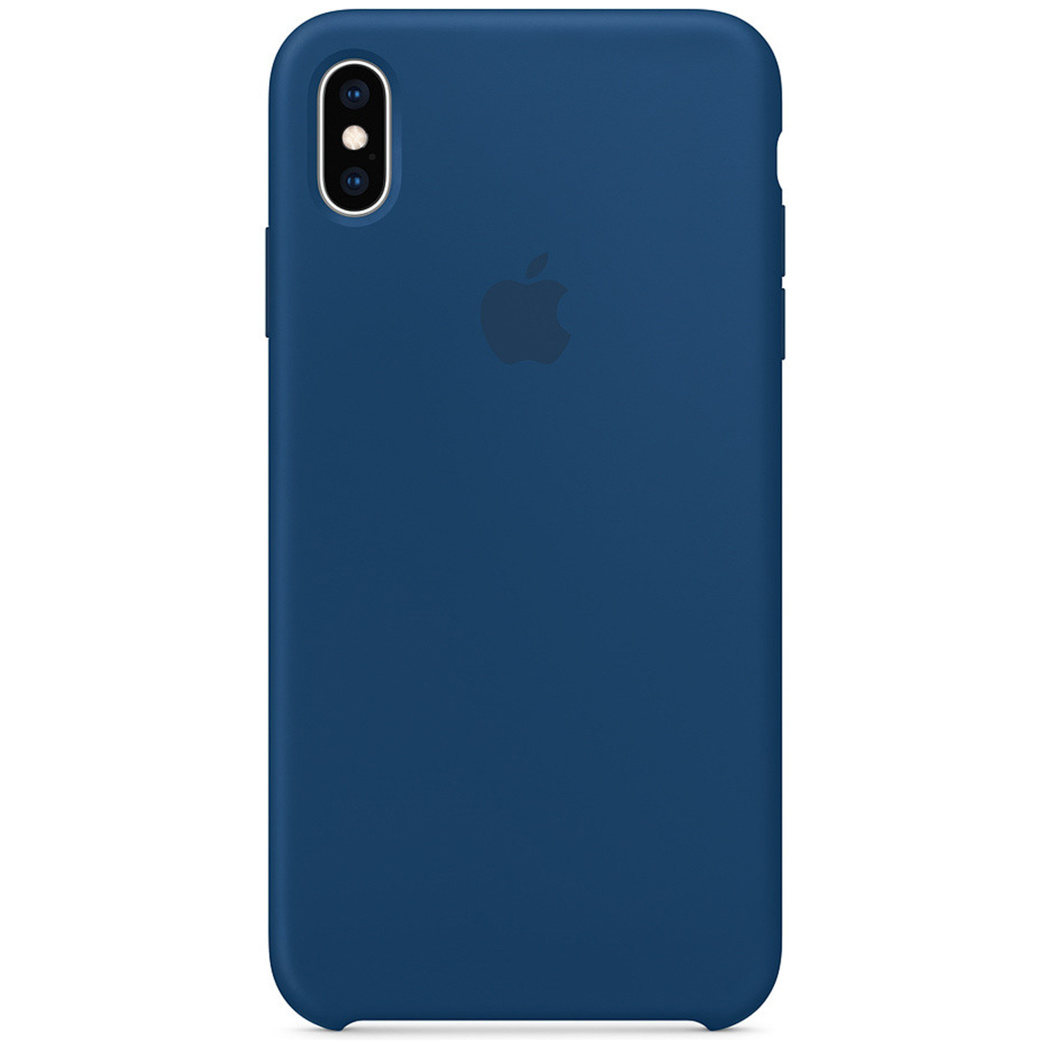Apple Silicone Backcover iPhone Xs Max - Blue Horizon