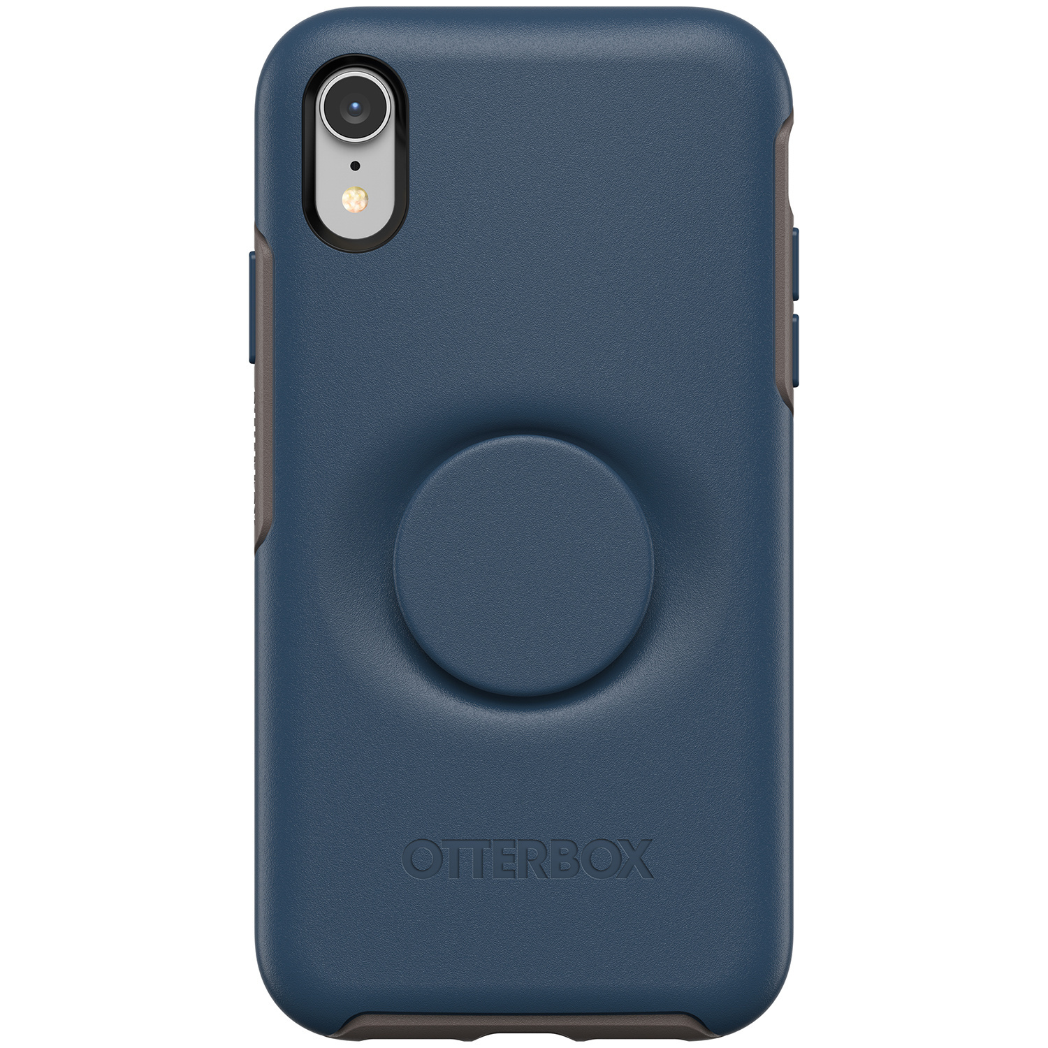 OtterBox Otter + Pop Symmetry Backcover iPhone Xr - Blauw