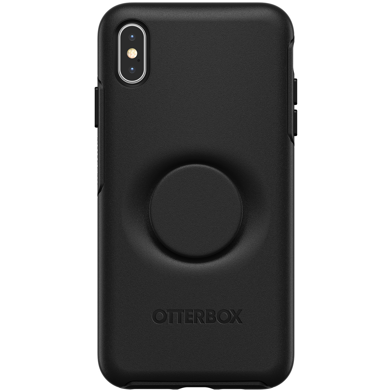 OtterBox Otter + Pop Symmetry Backcover iPhone Xs Max - Zwart
