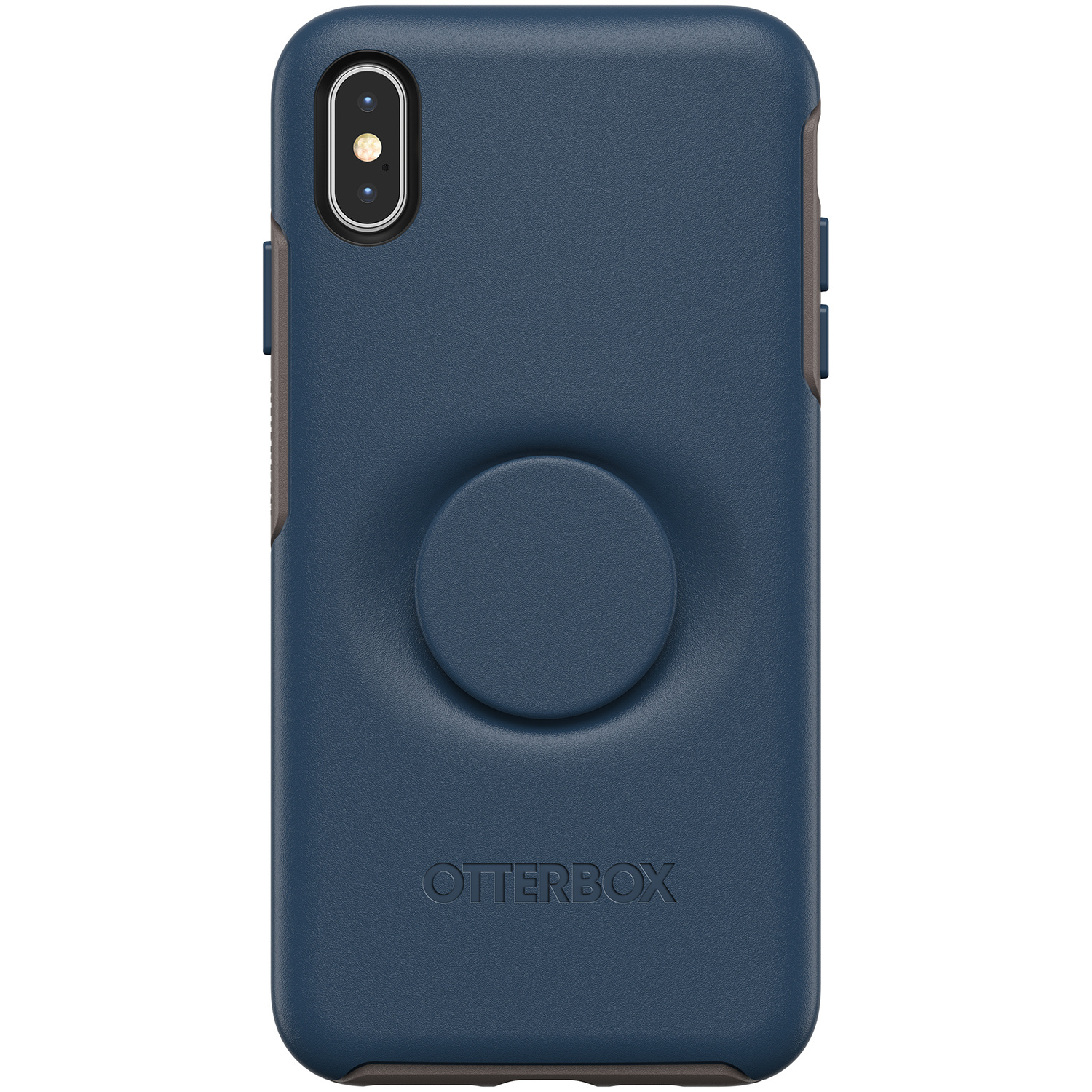 OtterBox Otter + Pop Symmetry Backcover iPhone Xs Max - Blauw