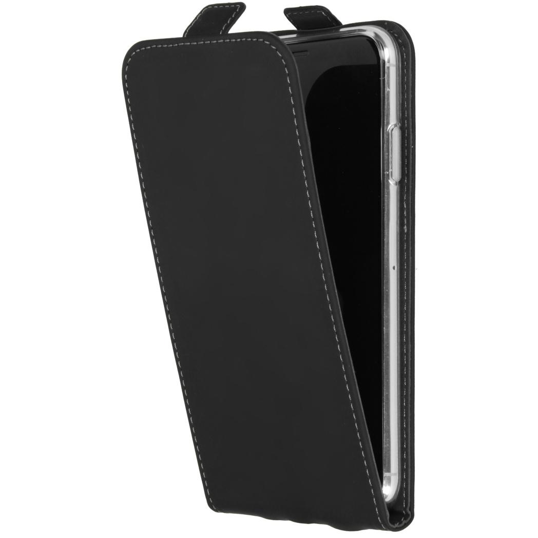 Accezz Flipcase iPhone Xs Max - Zwart