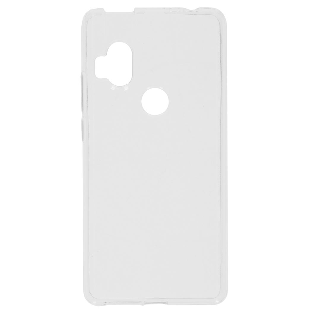 Softcase Backcover Motorola One Hyper - Transparant