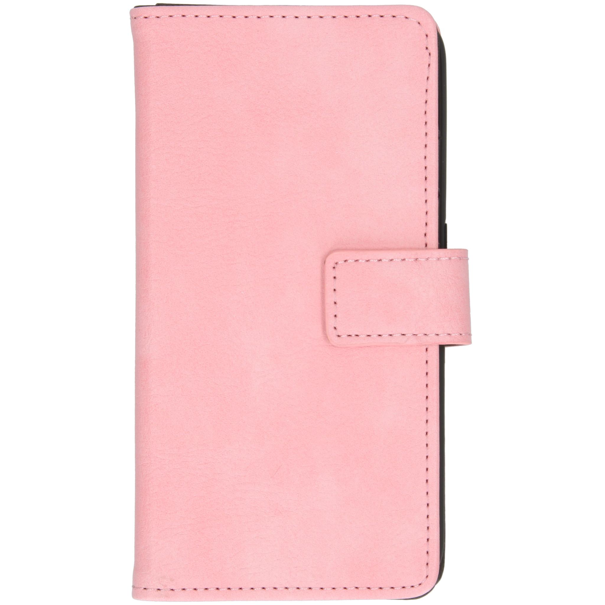 iMoshion Luxe Booktype Samsung Galaxy A01 - Roze