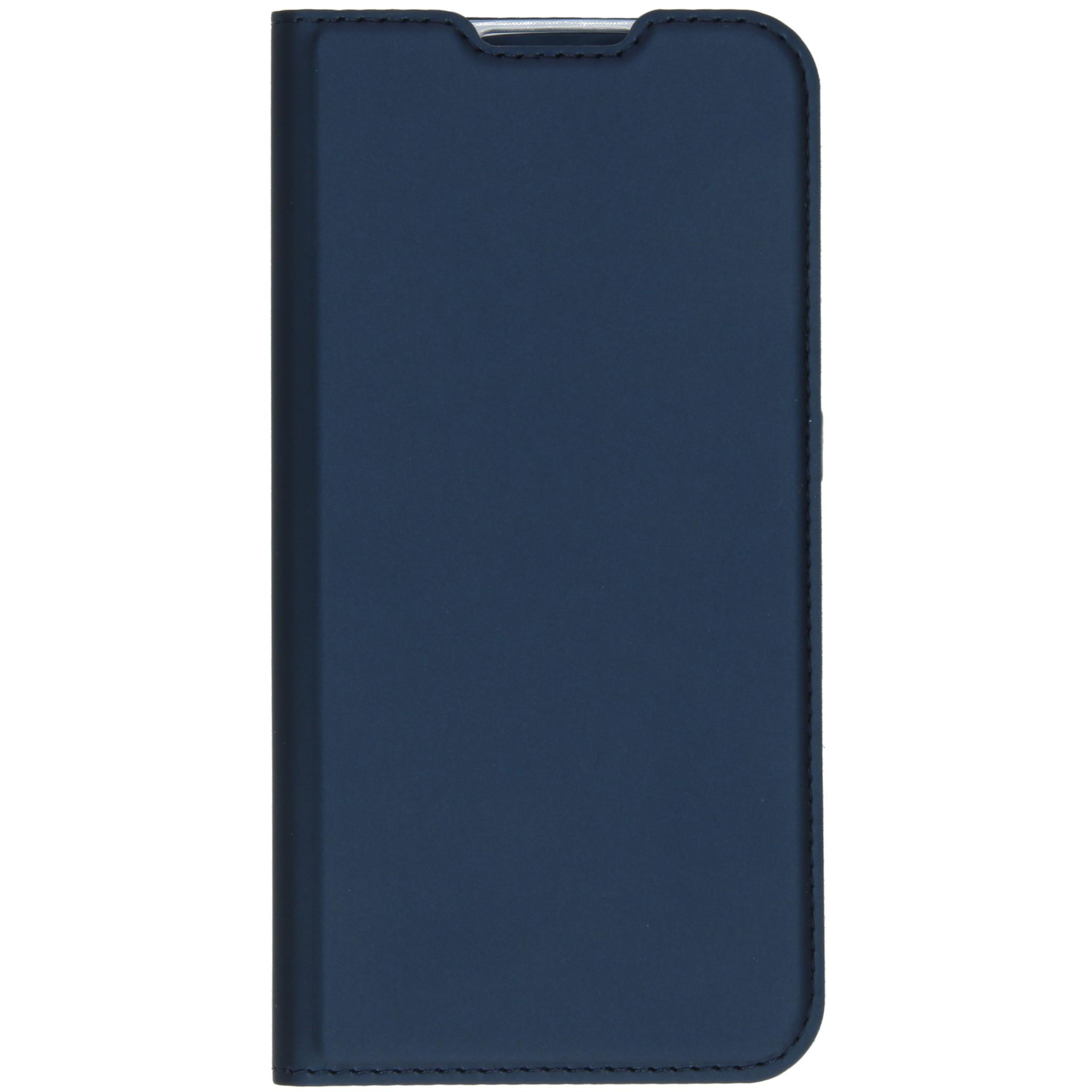 Dux Ducis Slim Softcase Booktype Samsung Galaxy A01 - Blauw