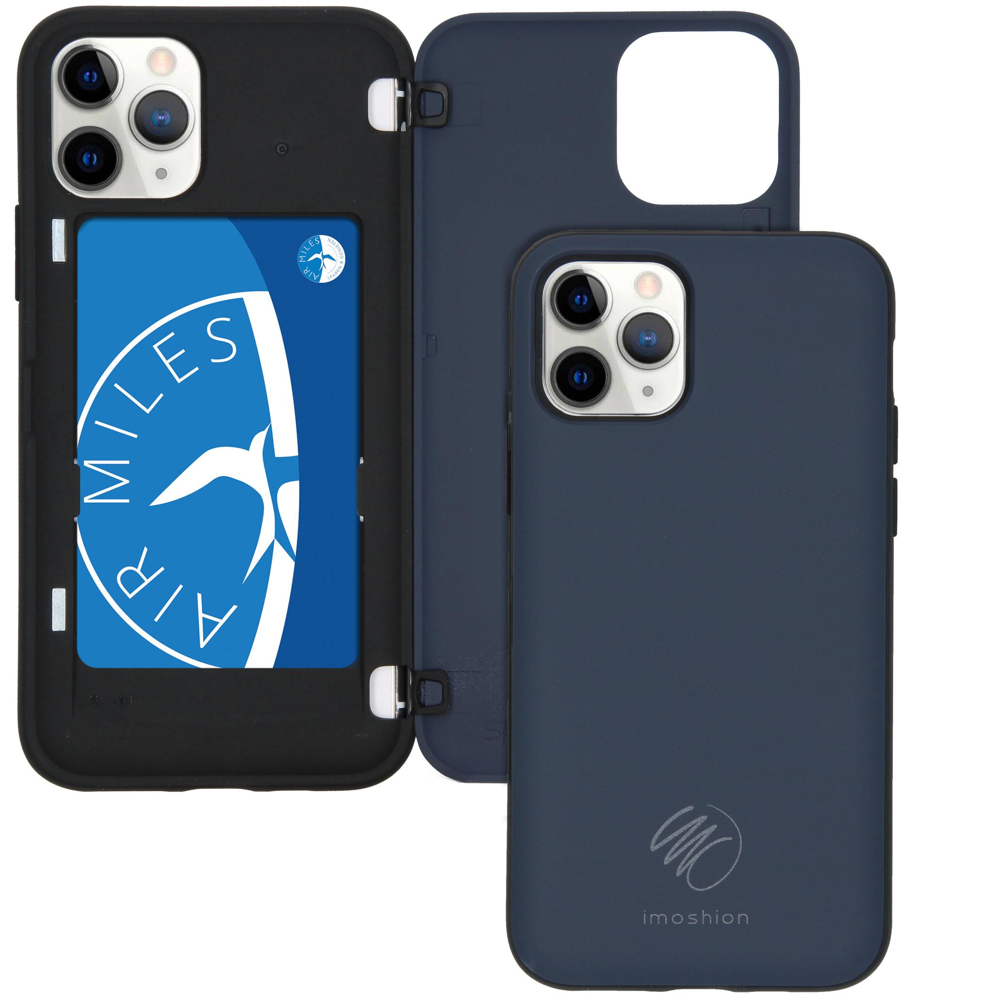iMoshion Backcover met pashouder iPhone 11 Pro - Donkerblauw