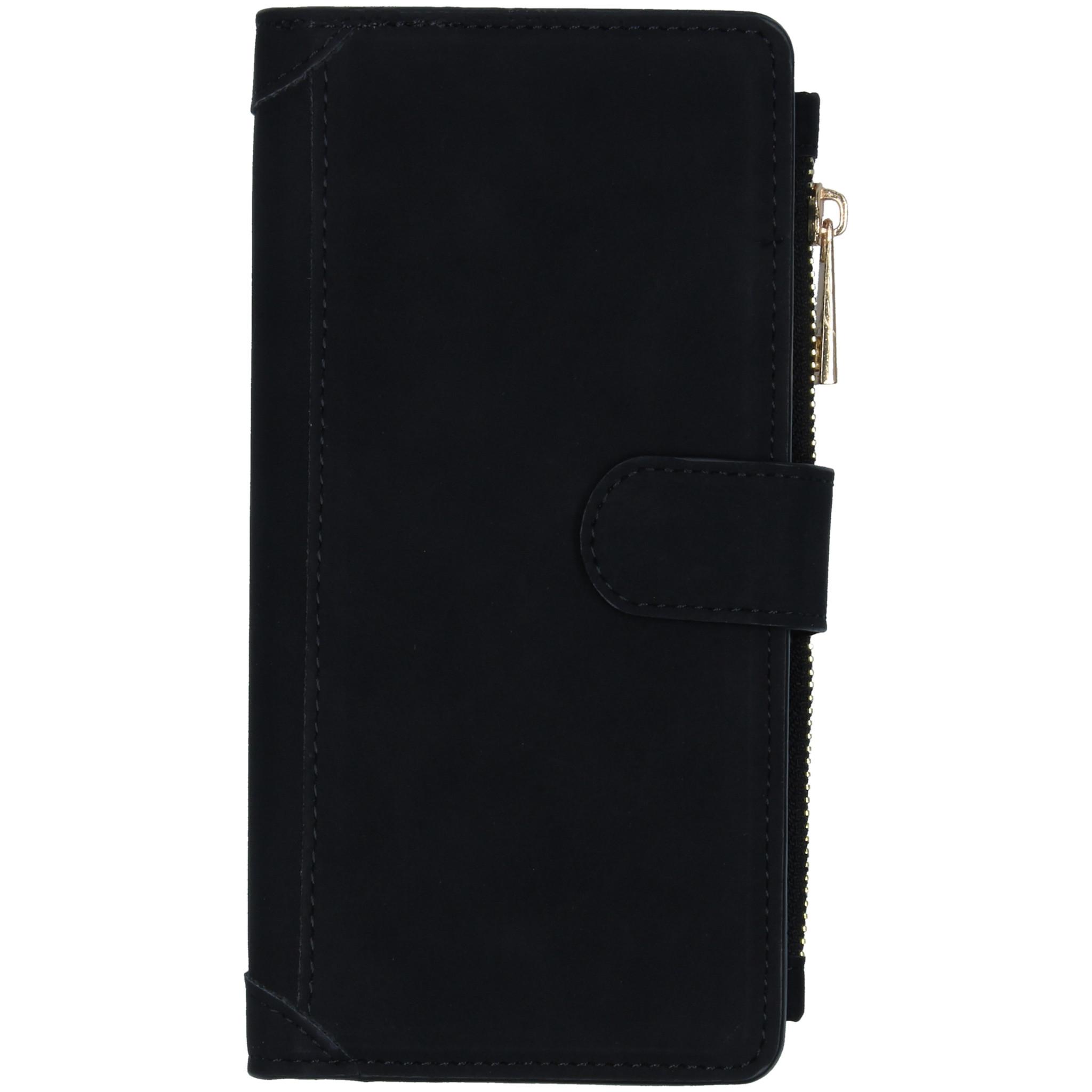 Luxe Portemonnee Samsung Galaxy S10 Lite - Zwart
