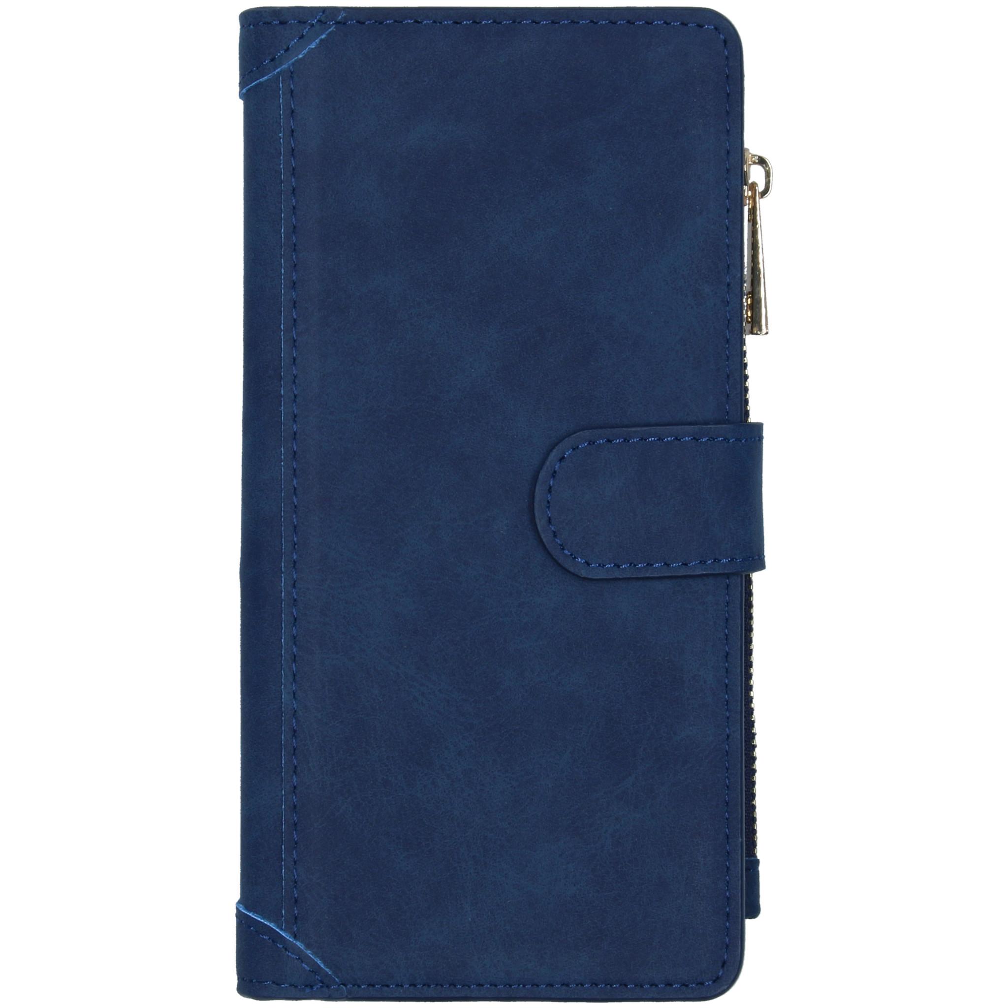 Luxe Portemonnee Samsung Galaxy S10 Lite - Blauw