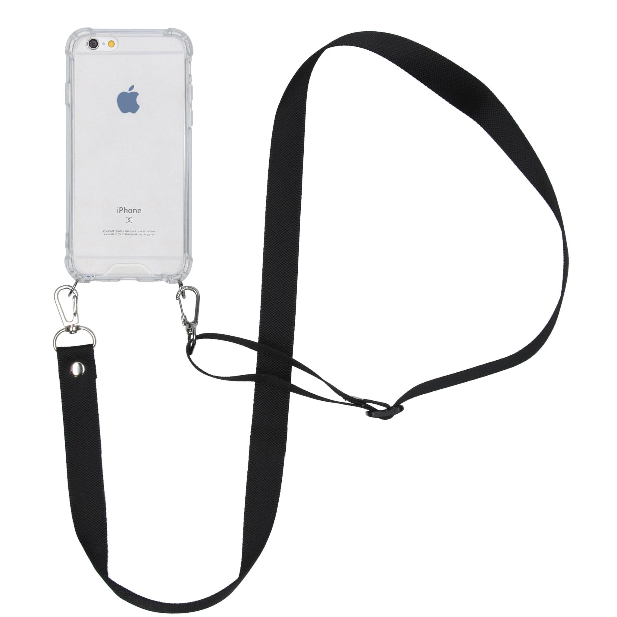 iMoshion Backcover met koord - Nylon iPhone 6 / 6s - Zwart