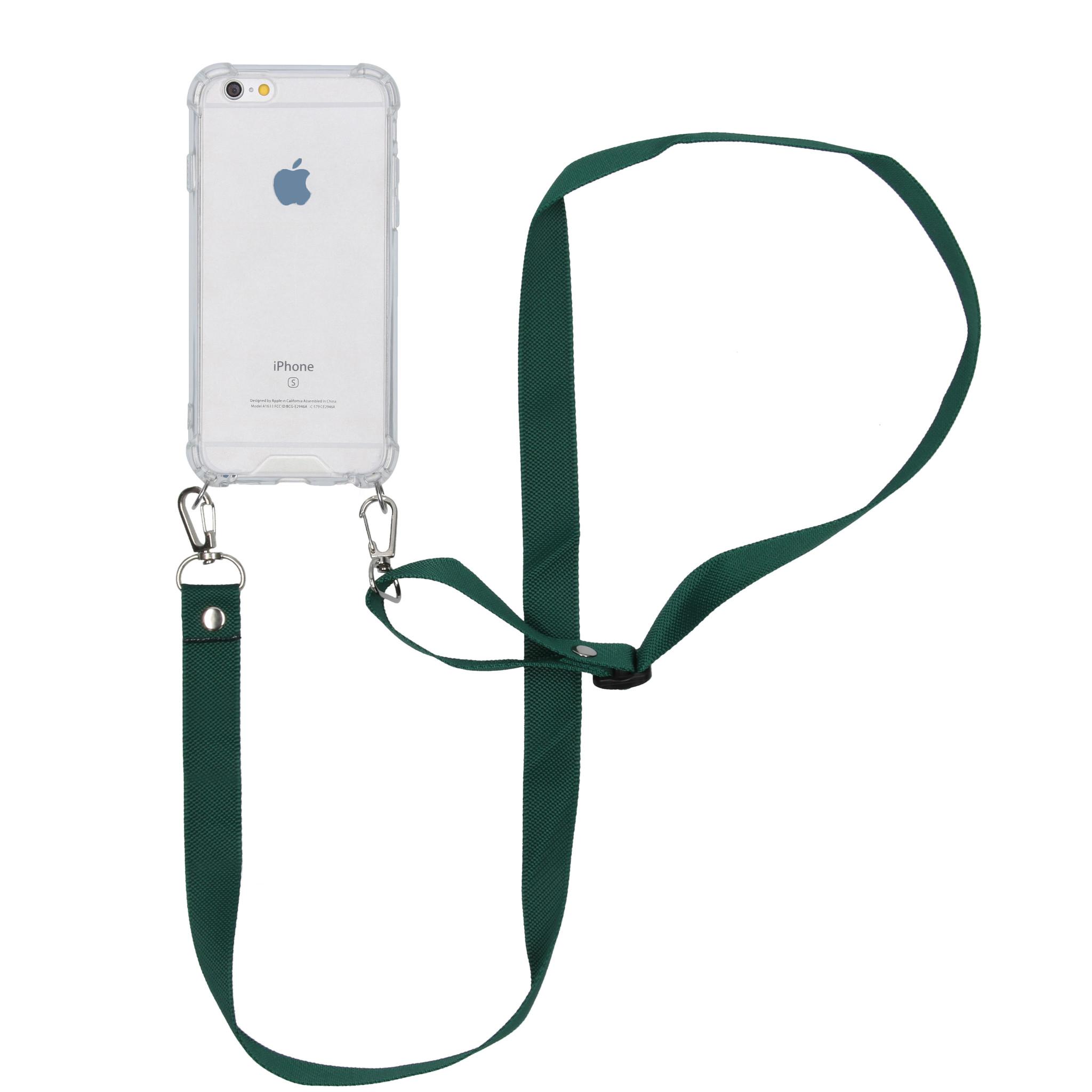 iMoshion Backcover met koord - Nylon iPhone 6 / 6s - Groen