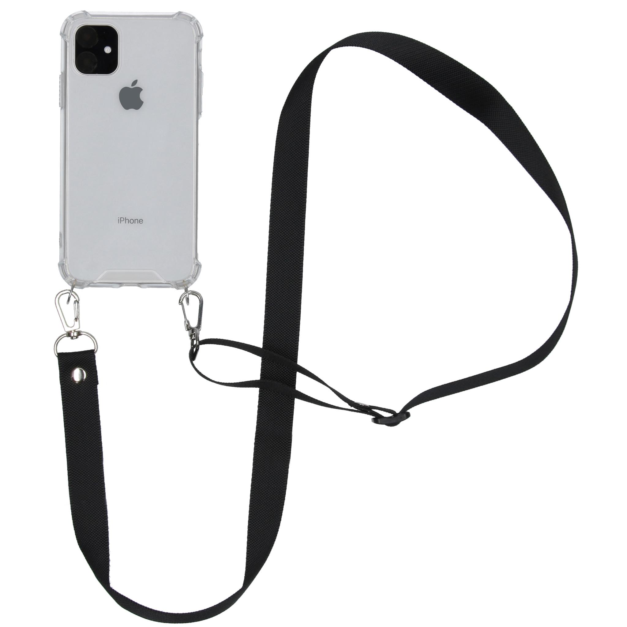 iMoshion Backcover met koord - Nylon iPhone 11 - Zwart