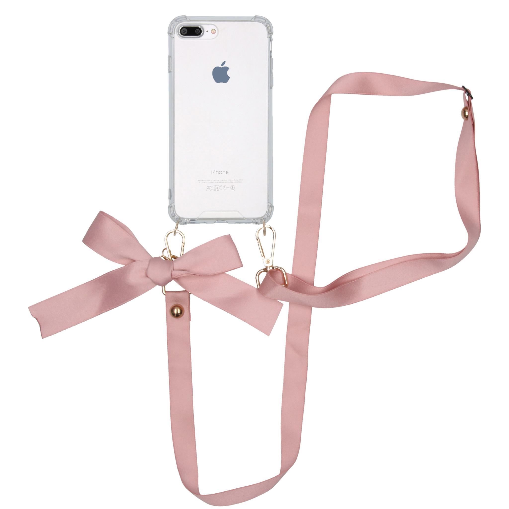iMoshion Backcover met koord - Satijn iPhone 8 Plus / 7 Plus