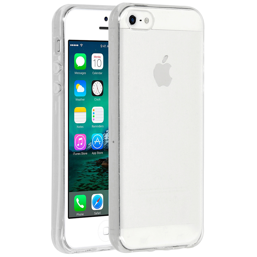 Accezz Clear Backcover iPhone 5 / 5s / SE - Transparant