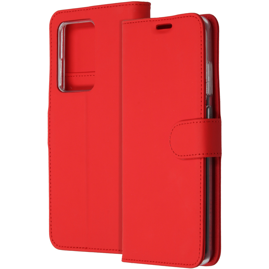 Accezz Wallet Softcase Booktype Samsung Galaxy S20 Ultra - Rood