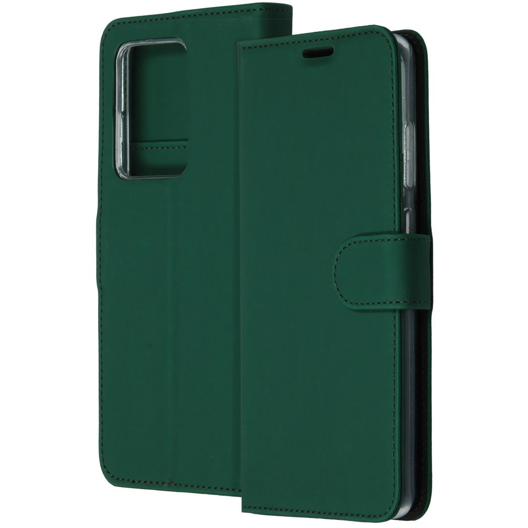 Accezz Wallet Softcase Booktype Samsung Galaxy S20 Ultra - Groen