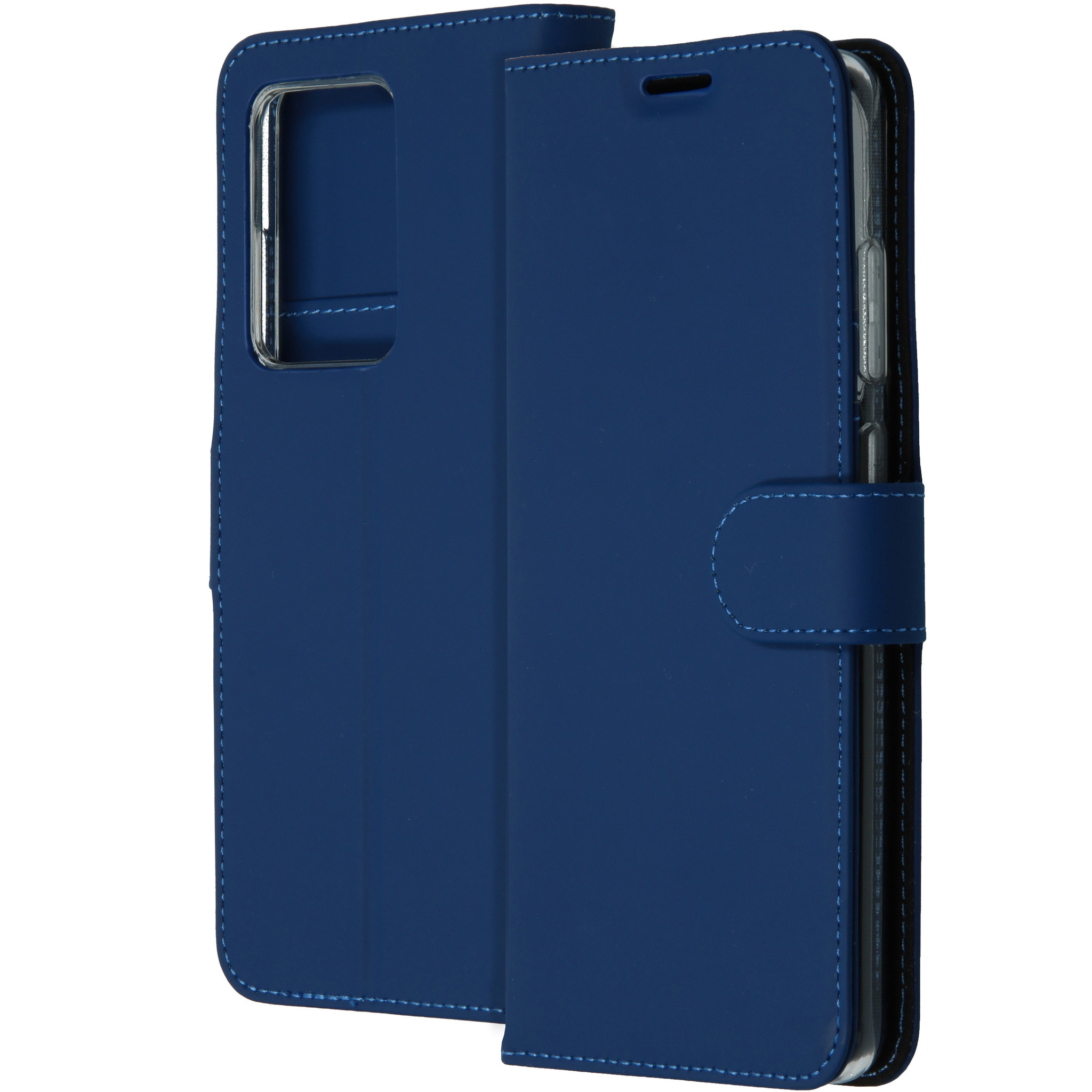 Accezz Wallet Softcase Booktype Samsung Galaxy S20 Ultra - Blauw