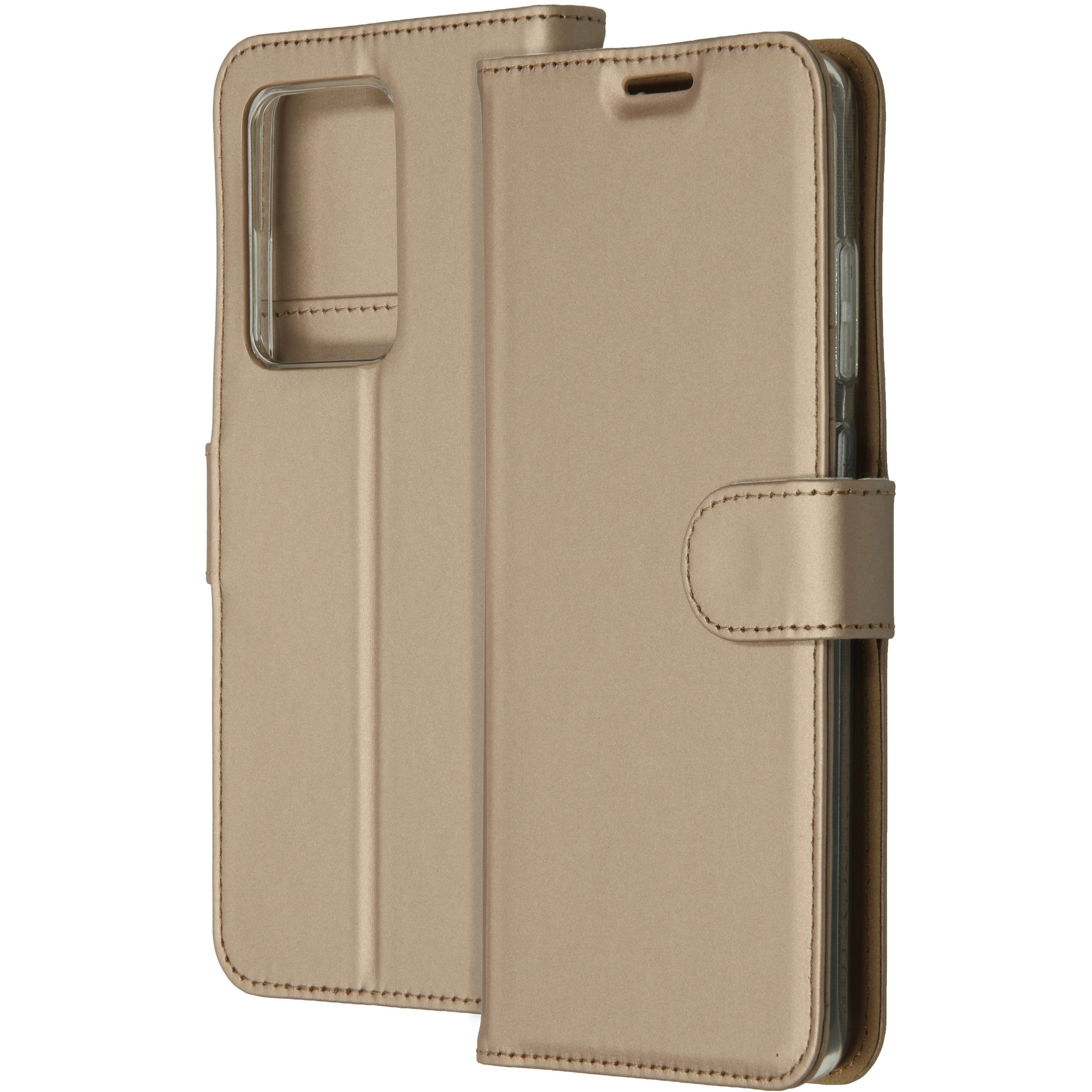 Accezz Wallet Softcase Booktype Samsung Galaxy S20 Ultra - Goud