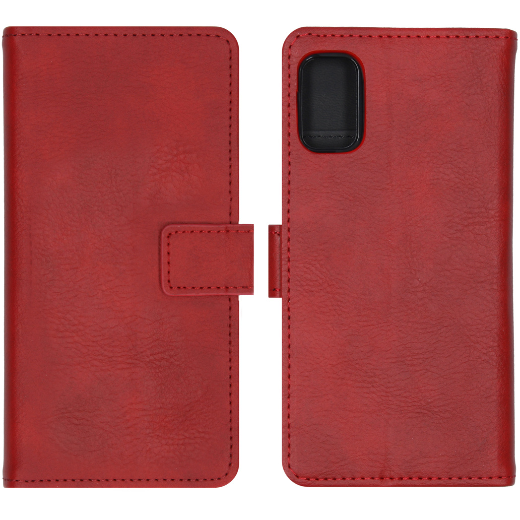 iMoshion Luxe Booktype Samsung Galaxy A41 - Rood