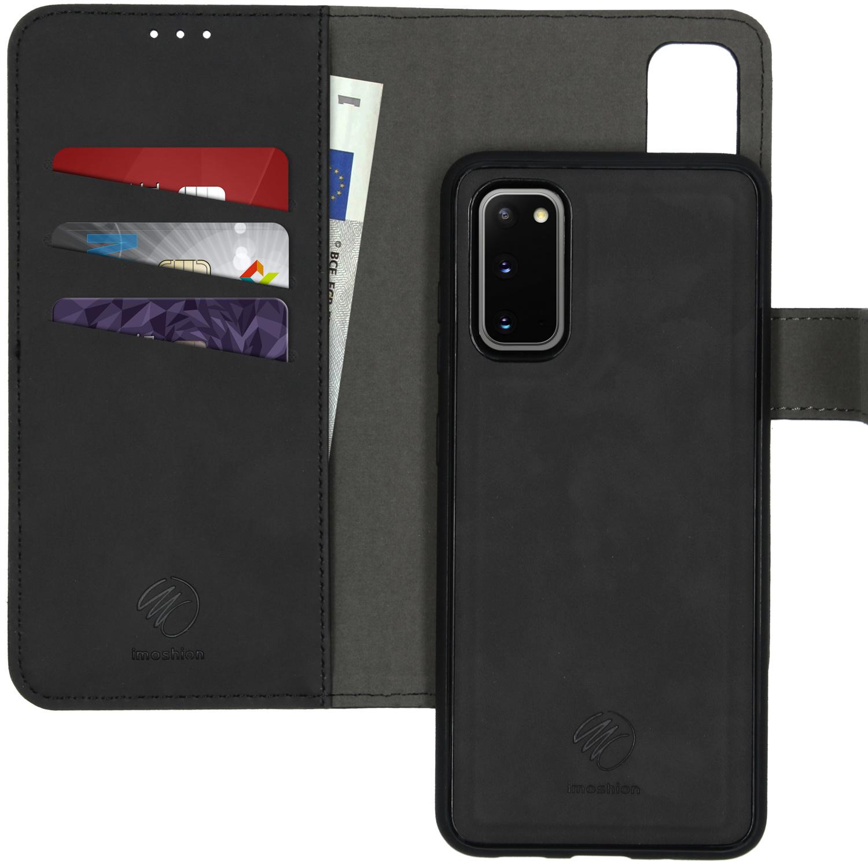 iMoshion Uitneembare 2-in-1 Luxe Booktype Samsung Galaxy S20 - Zwart