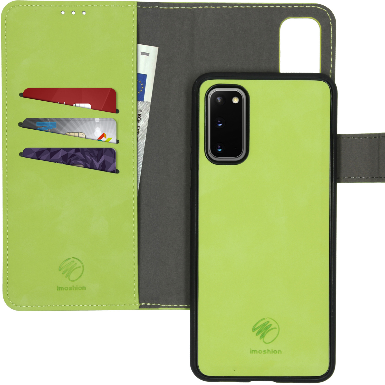 iMoshion Uitneembare 2-in-1 Luxe Booktype Samsung Galaxy S20 - Groen