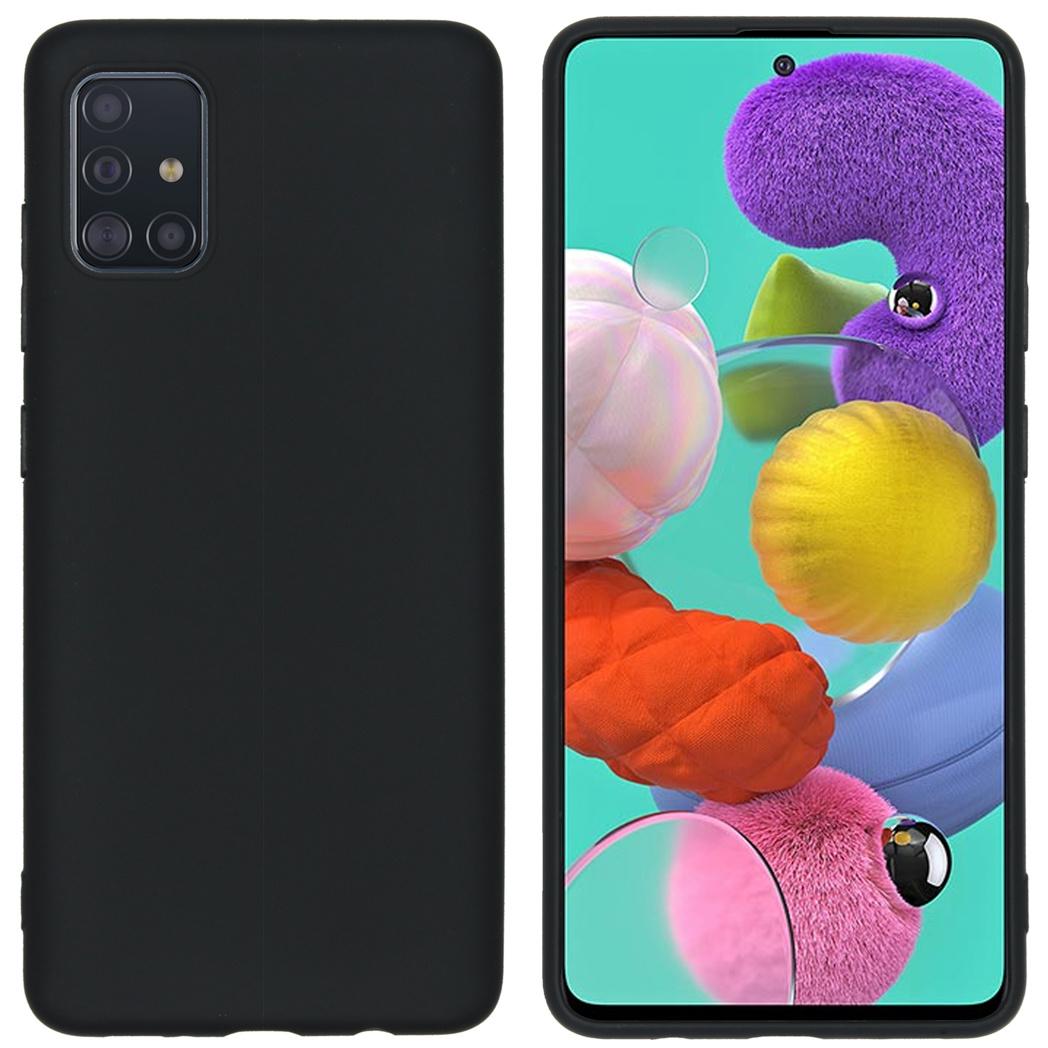 iMoshion Color Backcover Samsung Galaxy A51 - Zwart