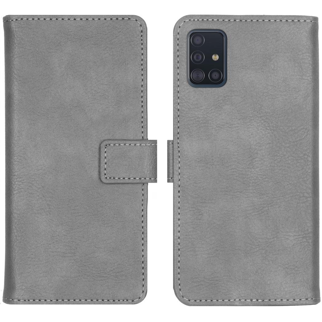 iMoshion Luxe Booktype Samsung Galaxy A51 - Grijs