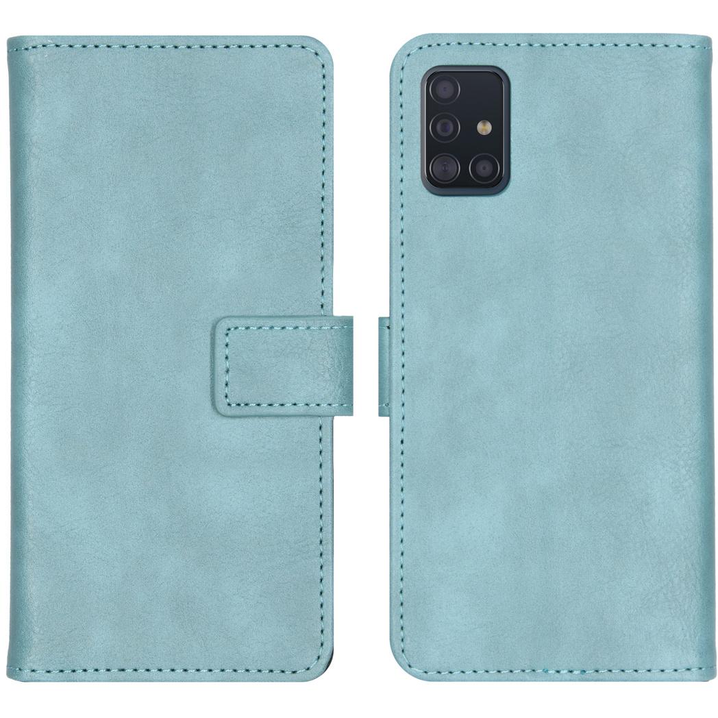 iMoshion Luxe Booktype Samsung Galaxy A51 - Lichtblauw