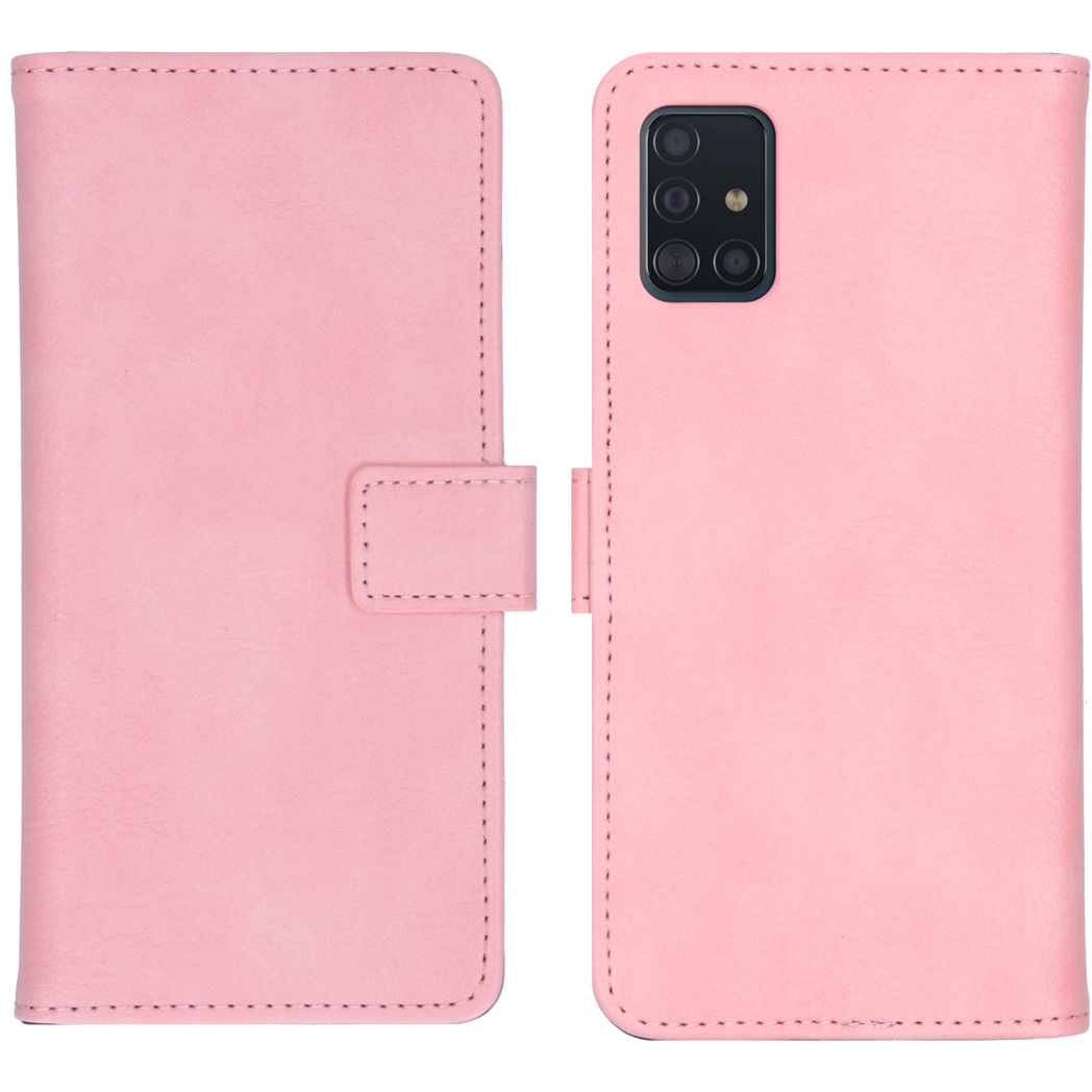 iMoshion Luxe Booktype Samsung Galaxy A51 - Roze