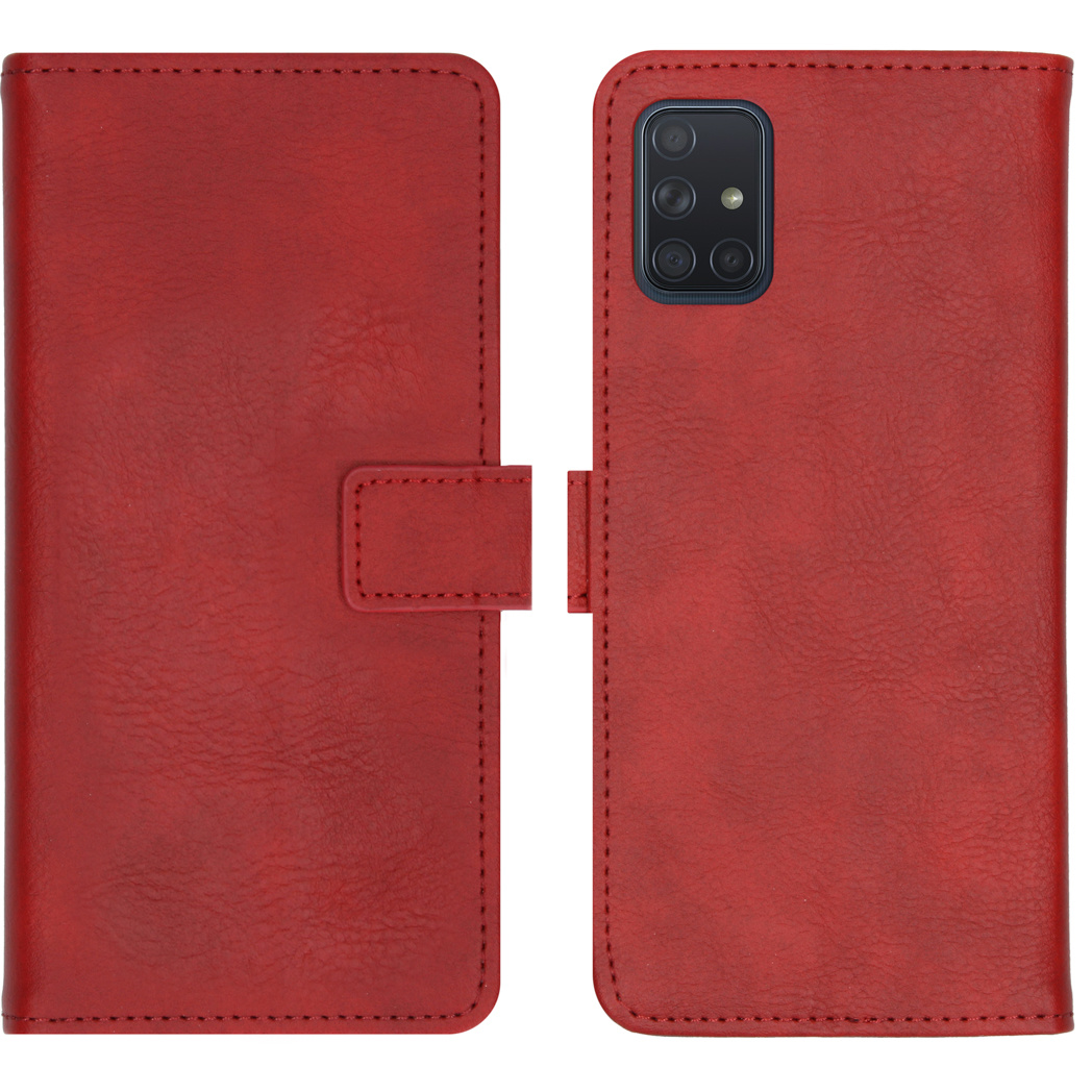 iMoshion Luxe Booktype Samsung Galaxy A71 - Rood