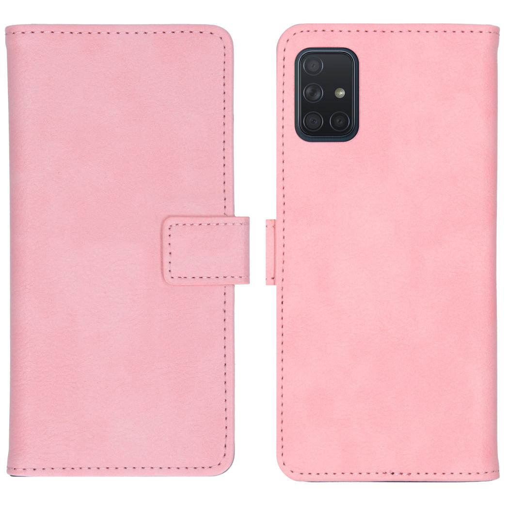 iMoshion Luxe Booktype Samsung Galaxy A71 - Roze