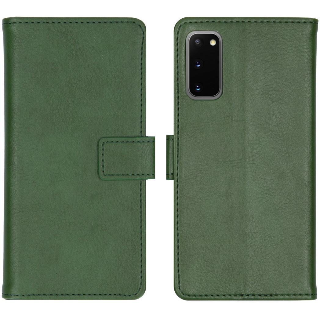 iMoshion Luxe Booktype Samsung Galaxy S20 - Groen