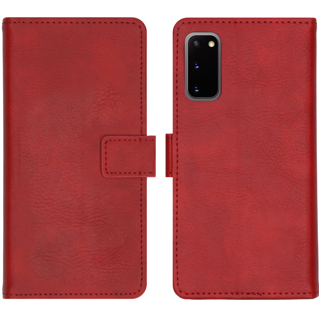 iMoshion Luxe Booktype Samsung Galaxy S20 - Rood