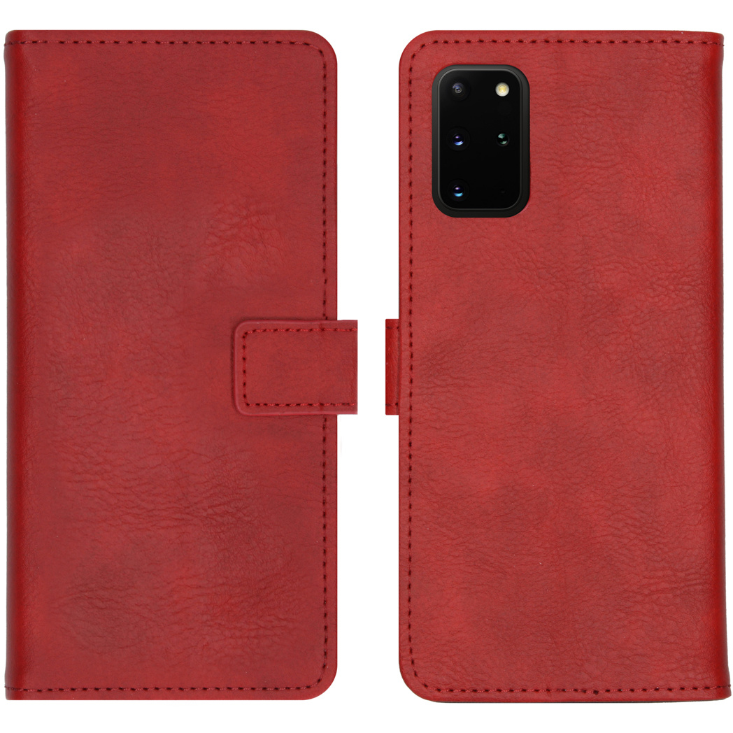 iMoshion Luxe Booktype Samsung Galaxy S20 Plus - Rood