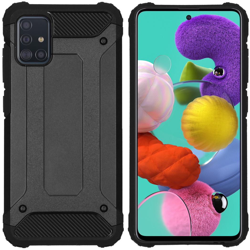 iMoshion Rugged Xtreme Backcover Samsung Galaxy A51 - Zwart