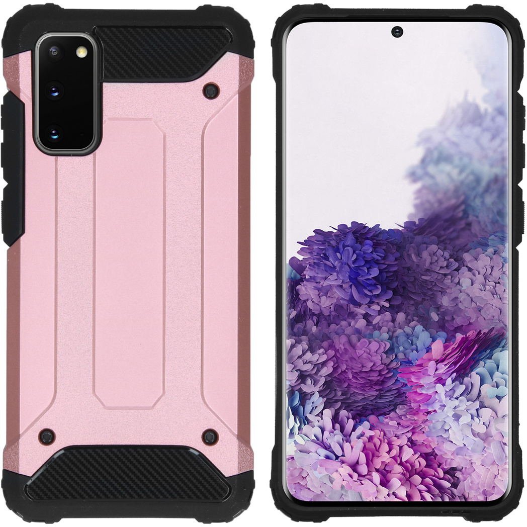 iMoshion Rugged Xtreme Backcover Samsung Galaxy S20 - Rosé Goud