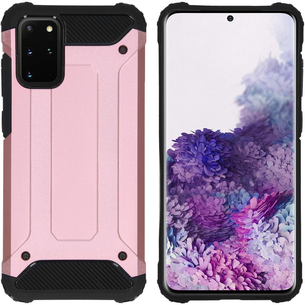 iMoshion Rugged Xtreme Backcover Samsung Galaxy S20 Plus - Rosé Goud