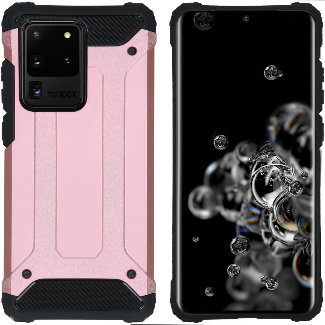 iMoshion Rugged Xtreme Backcover Samsung Galaxy S20 Ultra - Rosé Goud