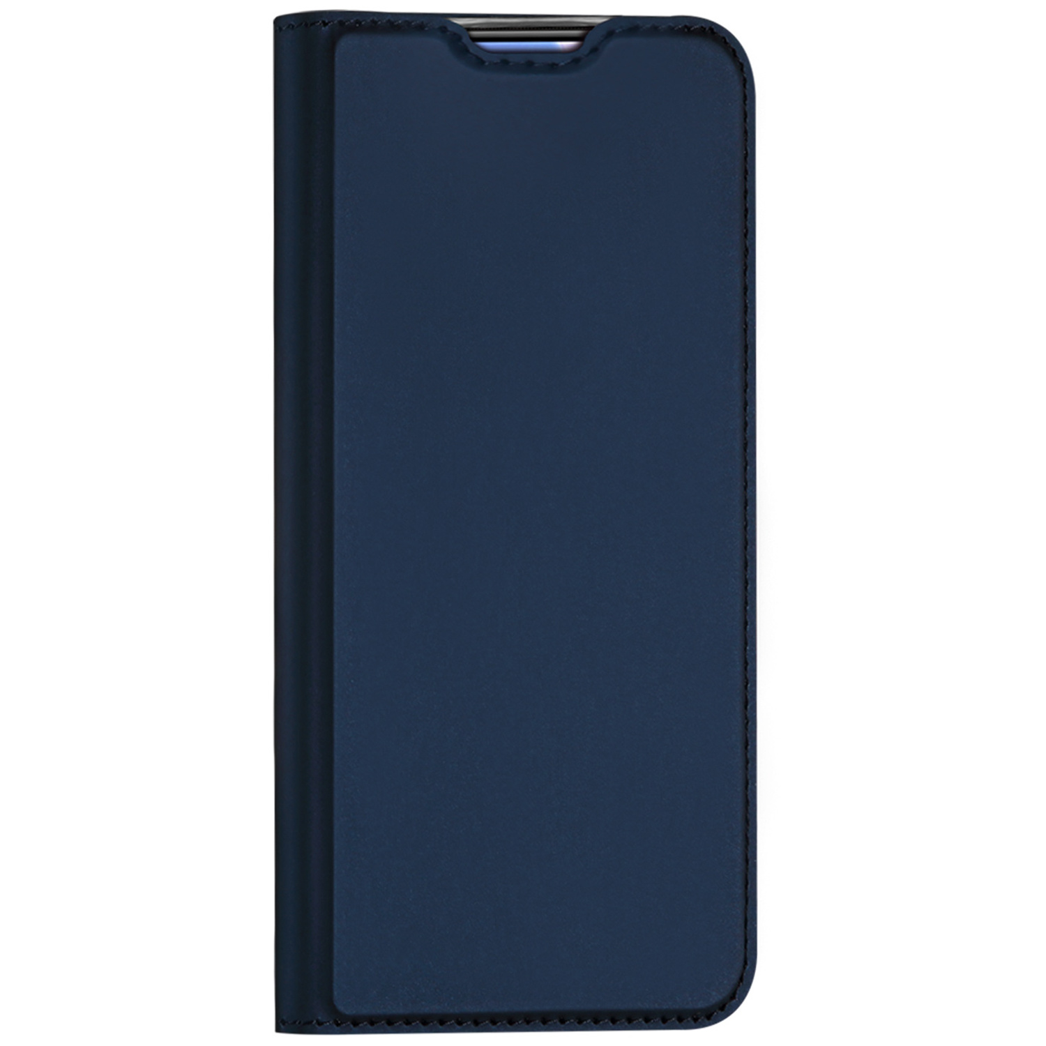 Dux Ducis Slim Softcase Booktype Oppo Find X2 Neo - Donkerblauw