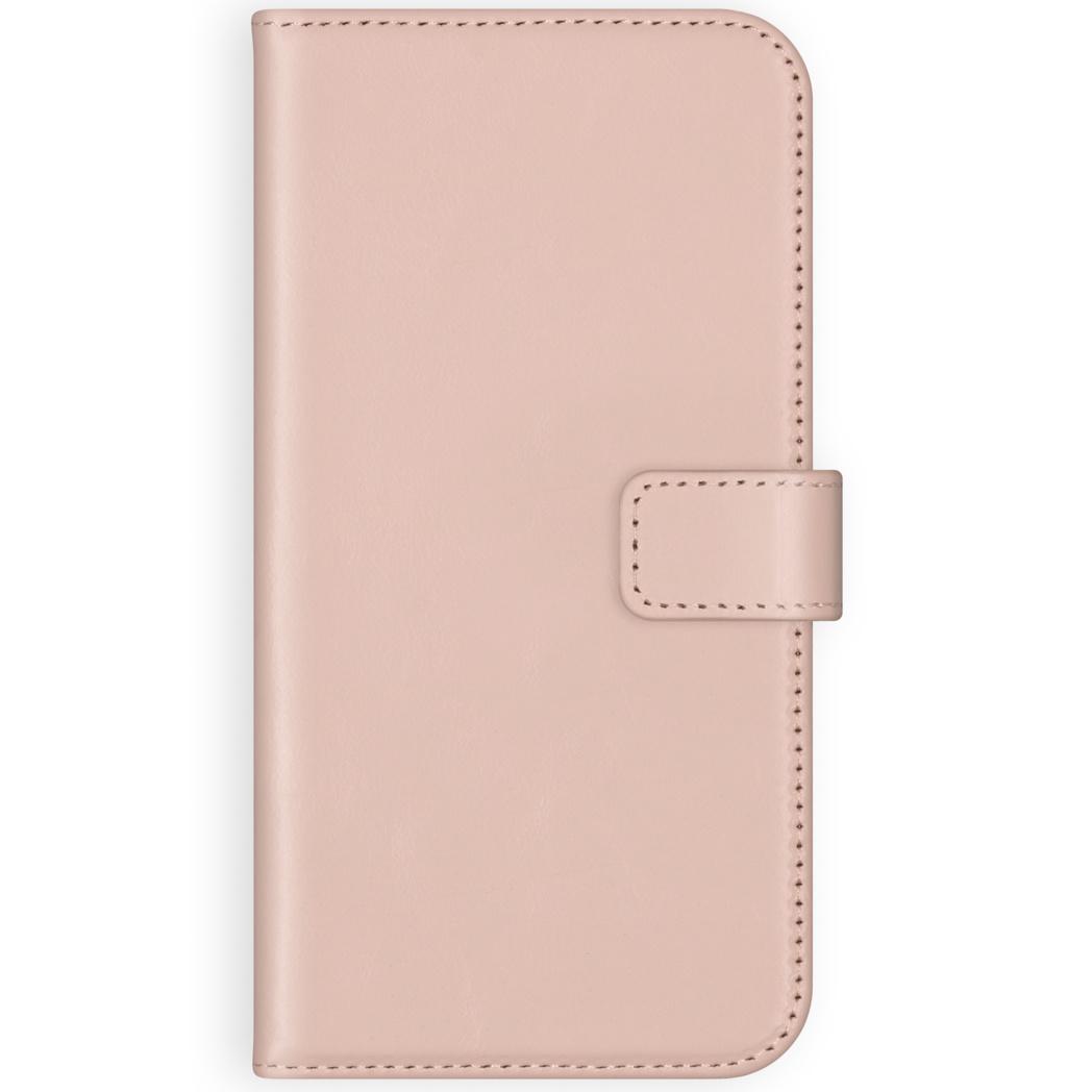 Selencia Echt Lederen Booktype Samsung Galaxy A71 - Roze