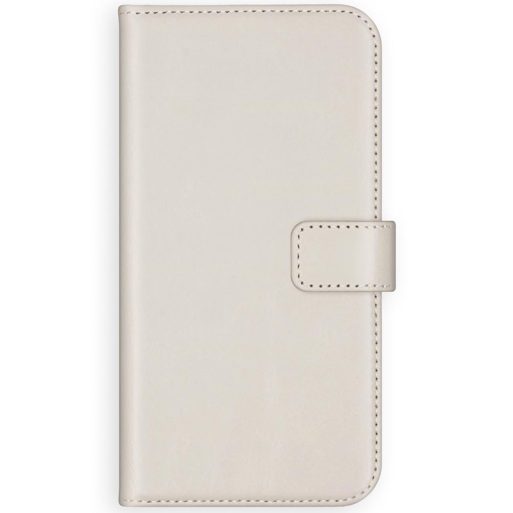 Selencia Echt Lederen Booktype Samsung Galaxy S20 Plus - Lichtgrijs