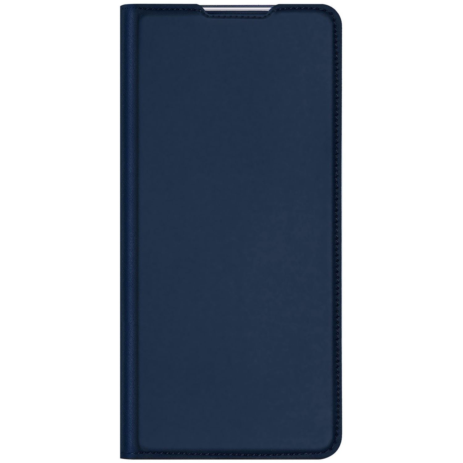 Dux Ducis Slim Softcase Booktype Oppo Find X2 Pro - Donkerblauw