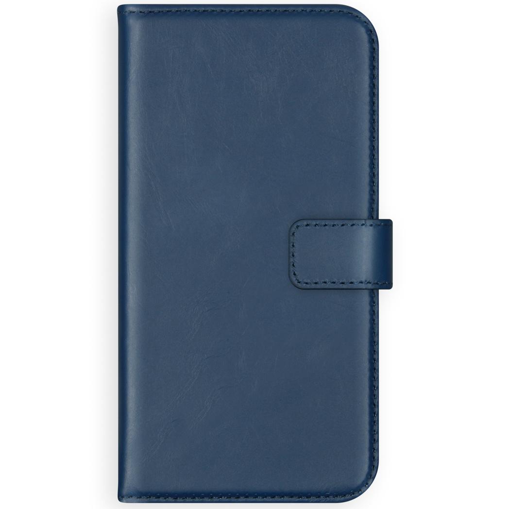 Selencia Echt Lederen Booktype Samsung Galaxy S10 Lite - Blauw