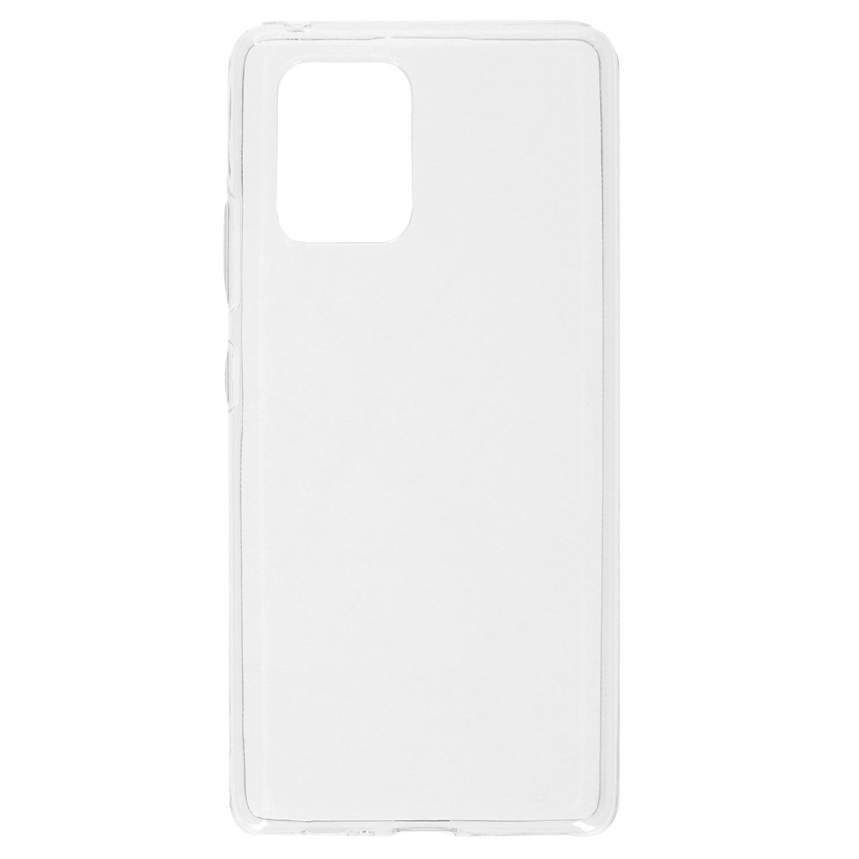 Softcase Backcover Samsung Galaxy S10 Lite - Transparant