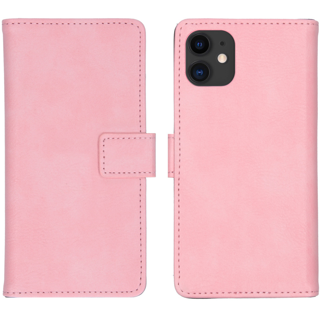 iMoshion Luxe Booktype iPhone 11 - Roze