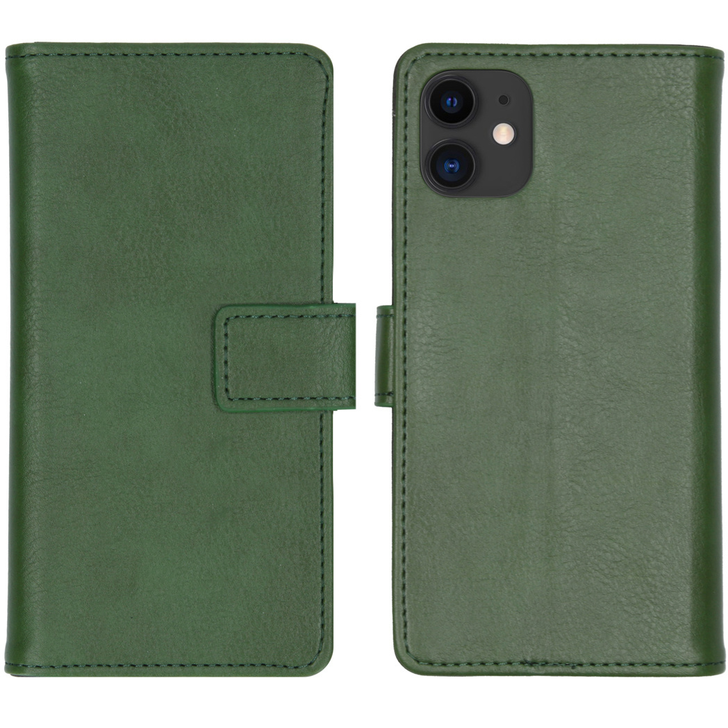 iMoshion Luxe Booktype iPhone 11 - Groen