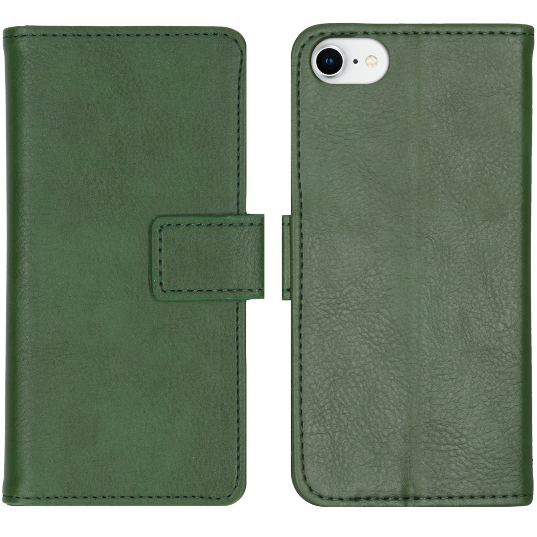 iMoshion Luxe Booktype iPhone SE (2020) / 8 / 7 / 6(s) - Groen