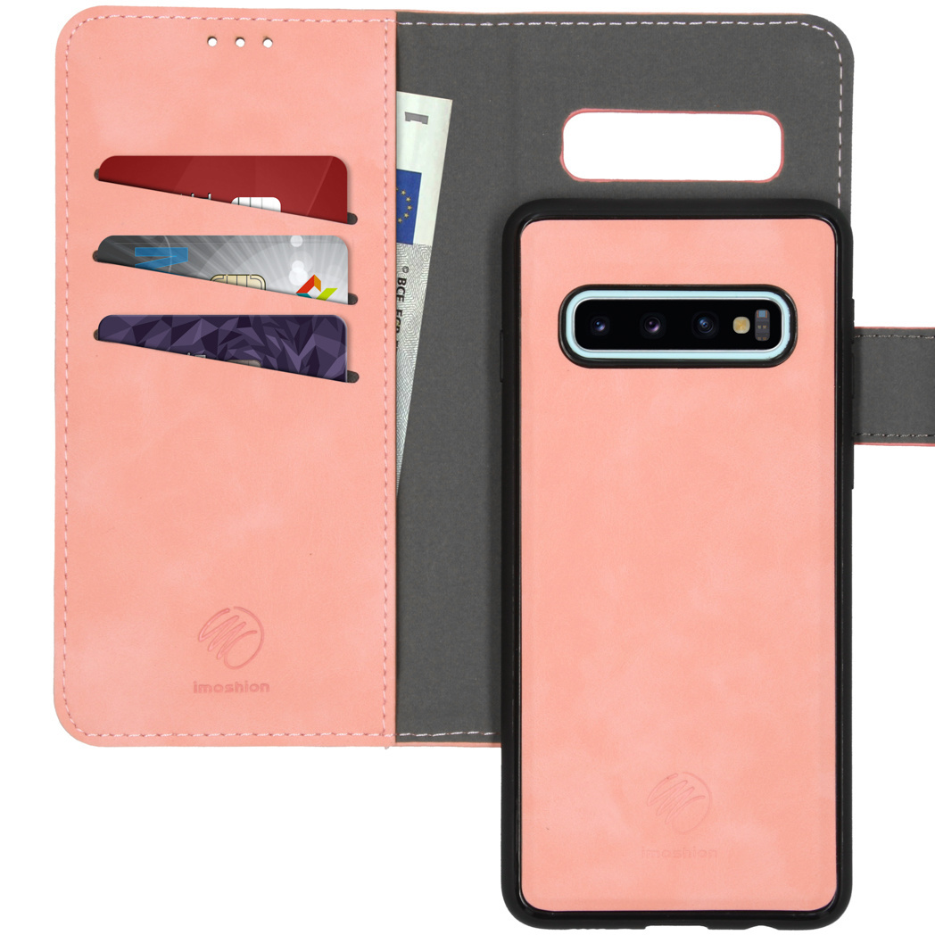 iMoshion Uitneembare 2-in-1 Luxe Booktype Samsung Galaxy S10 - Roze